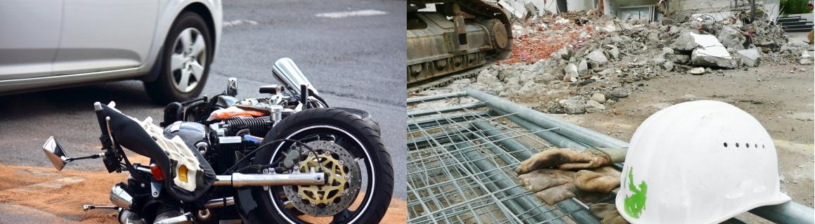 1-Motorcycle & Construction Site
