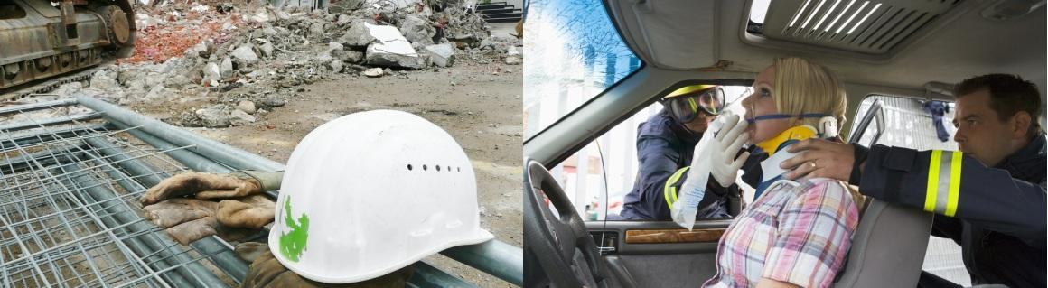 2-Construction Site & Injured Woman